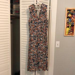 Current/Elliot wrap dress. Size 0. Floral print.